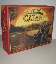 I SOLD IT ON EBAY. The Settlers of Catan board game by Mayfair Games and the variations/add ons  are definitely my favorite games and get a LOT of play at my house. #boardgames
