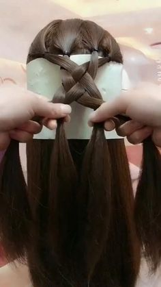 Easy Hairstyles For Long Hair, Braids For Long Hair, Little Girl Hairstyles, Up Hairstyles, Front Hair Styles, Medium Hair Styles, Curly Hair Styles, Natural Hair Styles, Curly Hair Men