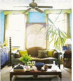 House of Turquoise: Rayman Boozer's Cover-Worthy Home