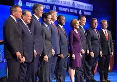 For people who so often accuse Hillary Clinton of lying, the Republican presidential candidates seem to feel perfectly free to bend, twist and shred the truth at will. Unsurprisingly, that is just what several of them were caught doing in their free-for-all CNBC debate.  - 2015/10/30
