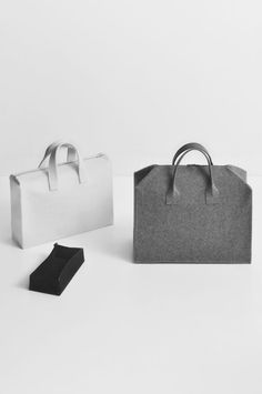 Burel handbag by Daniel Vieira Design, via Behance My Bags, Purses And Bags, Leather Craft, Leather Bag, Daniel Oliveira, Minimalist Bag, Fall Trends, Fashion Bags, Mens Fashion
