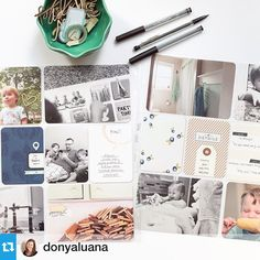 #Repost from @donyaluana with @repostapp --- Week 35 #ProjectLife - see the details over on @peppermintgranberg's blog today! #onelittlebird
