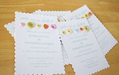 """Cute as a Button"" baby shower invitations, cookies, decorations---great theme!"