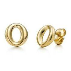 Tiffany & Co Elsa Peretti Sevillana Gold Earrings