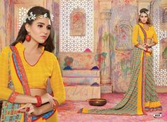 designer saree collection only at Gautam Marketing #saree #designersaree #wholesale #retail #worldwideshipping #shopping #fashion