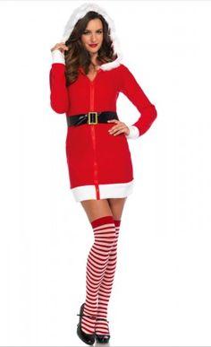abdd18f27011c8 Kerst kostuum voor vrouwen - Cozy Santa - kerstvrouw pakje kleur rood