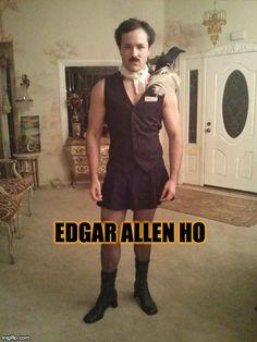 Edgar Allen Ho   Poe costume