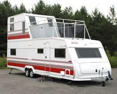 Double decker Trailer / caravan