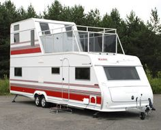 Double decker Trailer / caravan