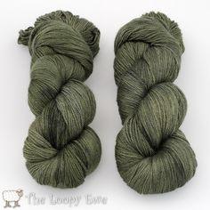 Pining 4 Ewe from Blue Moon Fiber Arts Worthy - Fingering 437 yds, 35% bombyx silk, 65% white cashmere