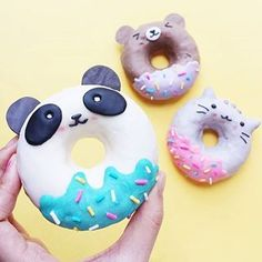 Gorgeous character doughnuts from Vickee Yo!