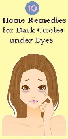 HOW TO GET RID Dark Circles under Eyes