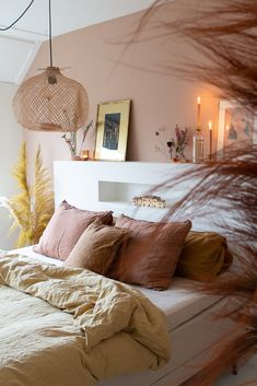 Warm Bedroom, Neutral Bedrooms, Room Ideas Bedroom, Small Room Bedroom, Bedroom Inspo, Home Bedroom, Master Bedroom, Bedroom Decor, Guest Bedrooms