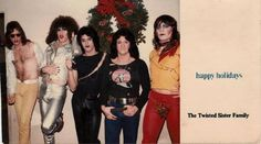 Happy Holidays – The Twisted Sister Family