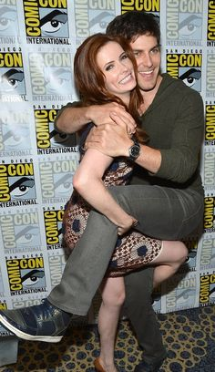 Grimm - Bitsie Tulloch and David Giuntoli