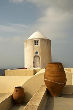 Cycladic Architecture, Santorini, Greece *