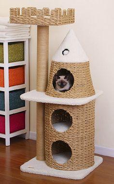 Hide and Play Castle Cat Condo