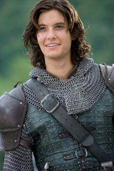 The essence of Tristan in chain mail and a leather jerkin. Might the buckles be a little late in history though?