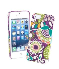 Snap on iPhone case in Plum Crazy