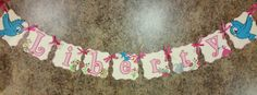 Check out this item in my Etsy shop https://www.etsy.com/listing/237517171/forest-friends-name-banner