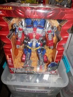 Transformers and Robots 83732: Hasbro Rotf Leader Class Revenge Of The Fallen Transformer Optimus Prime -> BUY IT NOW ONLY: $155 on eBay!