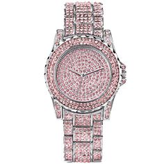 Avon Sparkling Watch Made with Pink Swarovski Elements Quartz Swarovski Watches, Premium Brands, Cool Gifts, Valentine Day Gifts, Cool Things To Buy, Quartz, Sparkle, Bling, Crystals