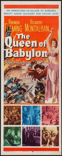 Queen of Babylon - roldano lupi - rhonda fleming : Rhonda ...