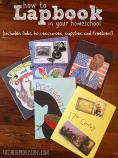 How+to+Make+Lapbooks+(includes+links+for+supplies,+freebies+and+links)