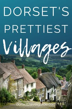 of the Prettiest Villages in Dorset - a round up of some of the must-see villages, and what to see and do while you're visiting! Dorset Travel, Places To Travel, Places To Go, Dorset Coast, Vacations To Go, Dorset England, Maldives Travel, English Village, Uk Holidays