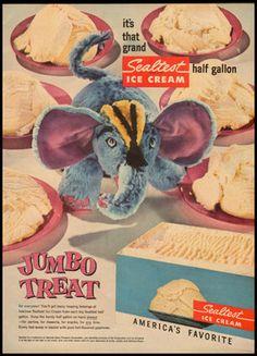 1954 Sealtest Ice Cream Ad
