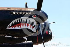 HAMILTON, ONTARIO/CANADA - JUNE 15, 2014: Only one in world flying De Havilland DH.98 Mosquito Designed in UK built in Canada refurbished in New Zealand combat aircraft known as The Wooden Wonder #stockphoto #editorial #aviation #aircraft #fly #stockphotography #Hamilton #Ontario #HamOnt #Lancaster #Bomber