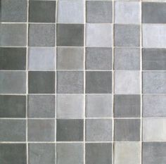 tiles made from recycled metal