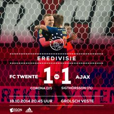 APOELGROUP.COM: Ajax 1-1 Twente, με τον Sigthórsson να ισοφαρίζει ...