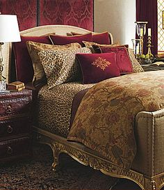 "Like the bedspread a whole lot. Lauren by Ralph Lauren ""Venetian Court"" Bedding Collection   Dillards.com"