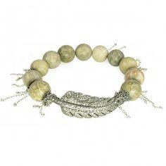 Fossil Coral Diamond Bracelet from Nan Fusco #bracelet #nanfusco