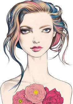 I love illustration: pippa mcmanus doodles & art модные иллю Australia Occidental, Art Couple, Alphonse Mucha, Art Watercolor, Fashion Art, Girl Fashion, Art Anime, Love Illustration, Human Art