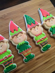Elf cookies by Heidissweetshoppe on Etsy