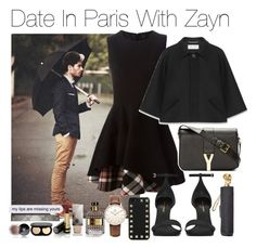 """Date In Paris With Zayn (Requested)"" by one-direction-outfitsxxx ❤ liked on Polyvore featuring Alexander McQueen, Topshop, Chanel, Valentino, Burberry, Bobbi Brown Cosmetics, Yves Saint Laurent and Gucci"