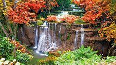 Tierra/Naturaleza Cascada  Fondo de Pantalla