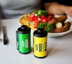 Film Roll Salt and Pepper Shakers – For the Film Buffs $23