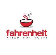 food and restaurant logos by fahrenheit asian hot soup by the logo boutique Best Logo Design, Custom Logo Design, Custom Logos, Best Logo Maker, Restaurant Logos, Hot Soup, Cool Logo, Curry, Branding