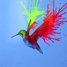 """Saatchi Art Artist Louise McNaught; Painting, """"A Wild Idea"""" #art"""