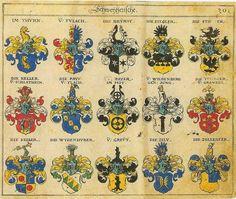Wappen Siegel Adelswappen