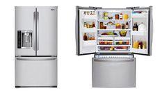 LG 27 Cu. Ft. Stainless Steel 4-Door French Door Refrigerator | hhgregg  $1799