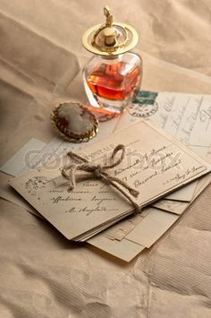 old love letters, antique accessories, perfume and cameo. vintage style toned picture High quality JPEG file 2832 x 4132 px. Letters From Home, Old Letters, Pocket Letter, Letter Photography, Handwritten Letters, Old Love, Vintage Lettering, Lost Art, Old Postcards
