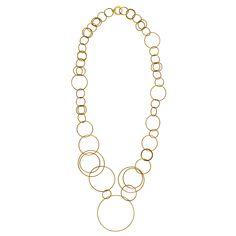 Gold K18 Chain, Gold, Jewelry, Fashion, Moda, Jewlery, Jewerly, Fashion Styles, Necklaces