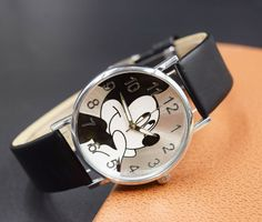 New Children Watch Hot sale 4 colors Mickey Mouse Cute cartoon watch Hot sale fashion casual Mouse kid boys women girls relojes