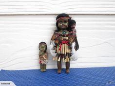 2 Small Maori Dolls | Trade Me