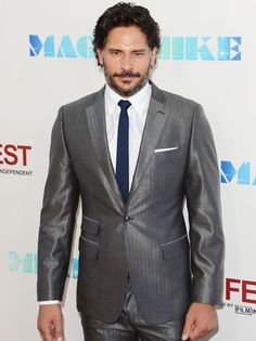 """Joe Manganiello is crossing over into major motion picture territory in """"Magic Mike"""" as stripper Big Dick Richie"""
