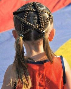 20 Magnifiques Coiffures Faciles Et Mignonnes Pour Petite filles 20 Beautiful Easy and Cute Hairstyles for Little Girls Creative Hairstyles, Trendy Hairstyles, Braided Hairstyles, Teenage Hairstyles, Hairstyles 2018, Beautiful Hairstyles, Childrens Hairstyles, Ladies Hairstyles, Hairstyles Pictures